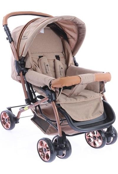 Safeline Quick Gold Çift Yönlü Bebek Arabası Kahverengi