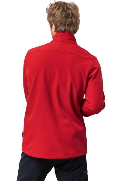 Jack Wolfskin Whırlwınd Kırmızı Erkek Mont