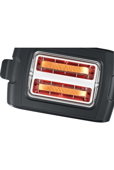 Bosch TAT6A113 Kompakt Ekmek Kızartma Makinesi Siyah