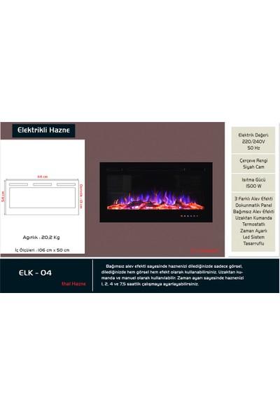 Çağlar Şömine A.Ş - 114lük Elektrikli Şömine Haznesi - ELK 04