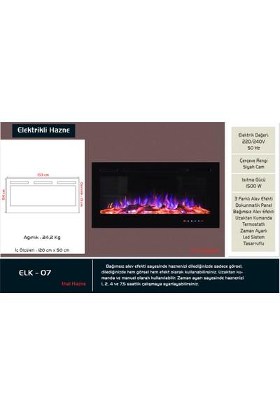 Çağlar Şömine A.Ş - 153lük Elektrikli Şömine Haznesi - ELK 07