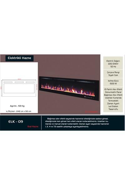 Çağlar Şömine A.Ş - 254lük Elektrikli Şömine Haznesi - ELK 09