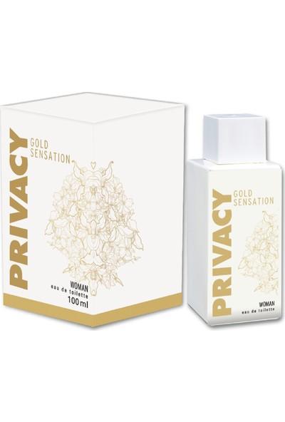 Privacy Gold Woman EDT Kadın Parfüm 100 ml