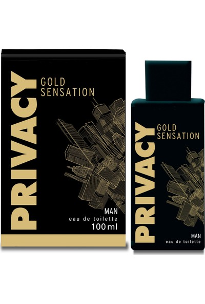Privacy Gold Man EDT Erkek Parfüm 100 ml