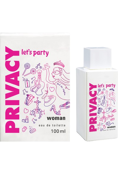 Privacy Let's Party Kadın Parfümü Edt 100 Ml