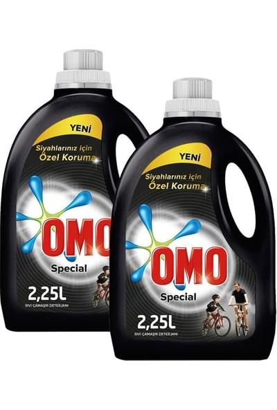 Omo Sıvı Çamaşır Deterjanı Siyah 2250 ml x 2 Li