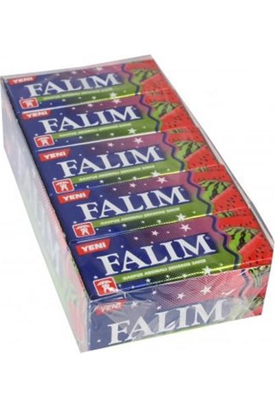Falım Şekersiz Sakız Karpuz Aromalı 5 li 7gr x 20 Li