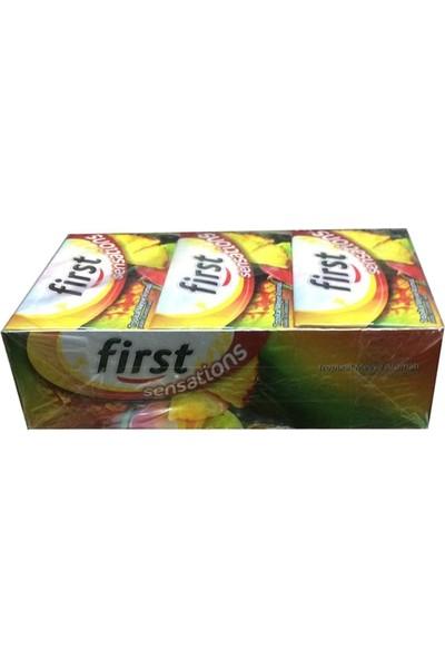First Sensations Tropikal Aromalı Sakız 27 gr x 12 Li