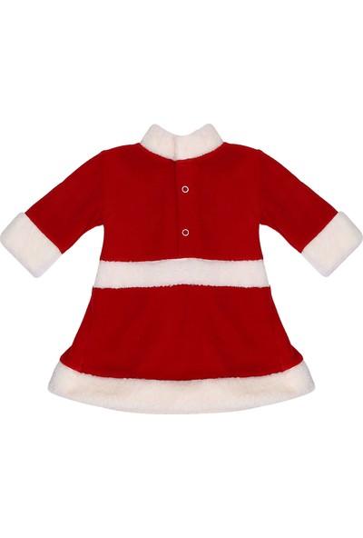 Tülü Akkoç Fiyonklu Noel / Yılbaşı Bebek Kostümü
