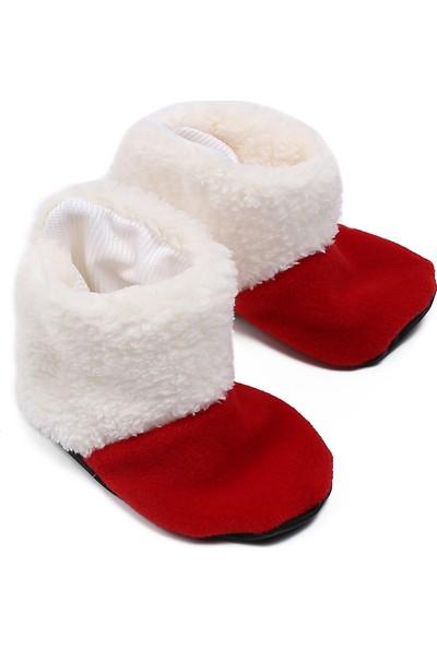Tülü Akkoç Kemerli Noel / Yılbaşı Bebek Kostümü