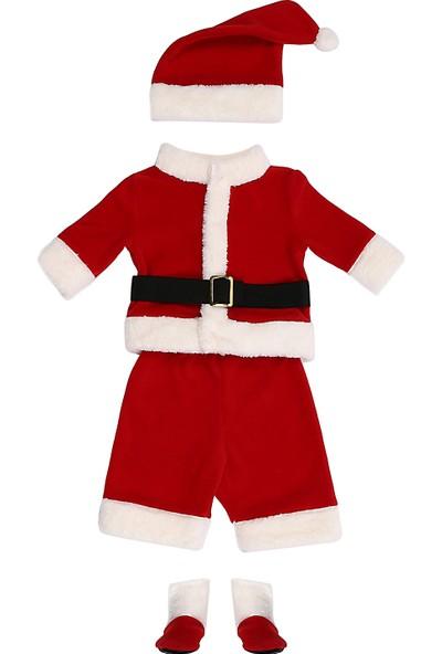 Tülü Akkoç Noel / Yılbaşı Bebek Kostümü