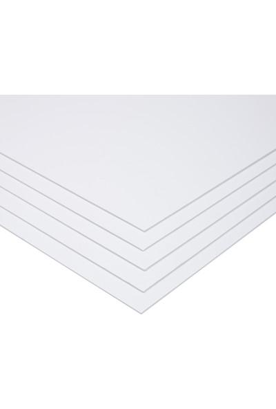 Hobi24 Fotoblok Beyaz 2Mm, 50 x 70Cm 5'Li Paket