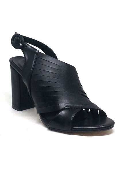 Shop And Shoes 027-18144 Kadın Ayakkabı Siyah