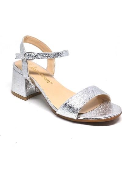 Shop And Shoes 031-1503 Kadın Ayakkabı Gümüş