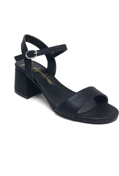 Shop And Shoes 031-1503 Kadın Ayakkabı Siyah
