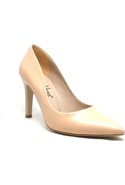 Shop And Shoes 194-150785 Kadın Stiletto Ten