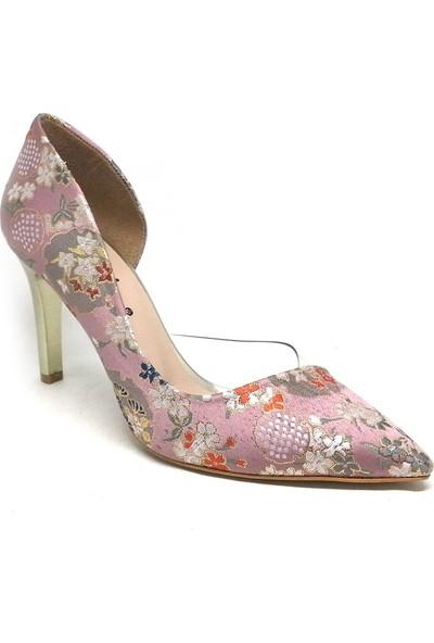 Shop And Shoes 194-85-1 Kadın Stiletto Pudra