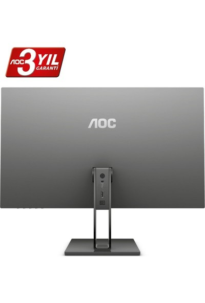 "AOC 22V2Q 21.5"" 75Hz 5ms (HDMI+Display) FreeSync IPS Monitör"