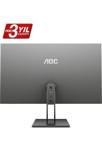 "AOC 27V2Q 27"" 75Hz 5ms (HDMI+Display) FreeSync IPS Monitör"