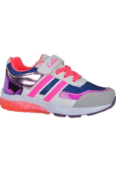 Callion D-1670 Pt Cırtlı Rahat Günlük Kız Çocuk Spor Ayakkabı