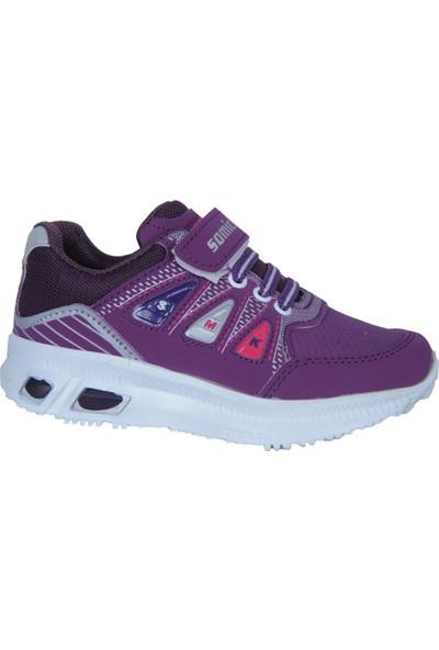 Somicks 111 Cırtlı Ortopedik Günlük Kız Çocuk Spor Ayakkabı