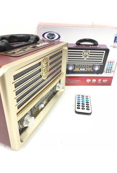 Everton Atasbey - Rt-852 Bluetoothlu Müzik Kutusu Radyo Usb Sdaux Mp3 Player