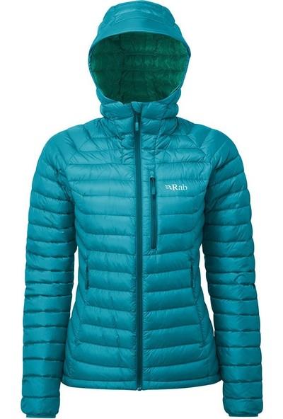 Rab Microlight Alpine Kapüşonlu Bayan Kaz Tüyü Ceket