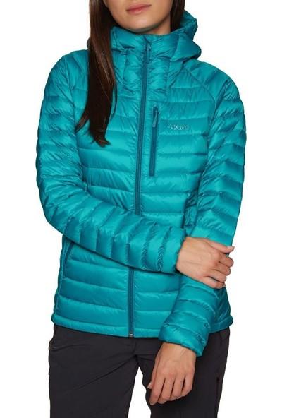 Rab Microlight Alpine Kapüşonlu Bayan Kaz Tüyü Mont