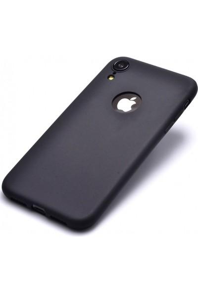 Aplus Apple iPhone XR Kılıf Ultra İnce Yumuşak Silikon Premier - Siyah
