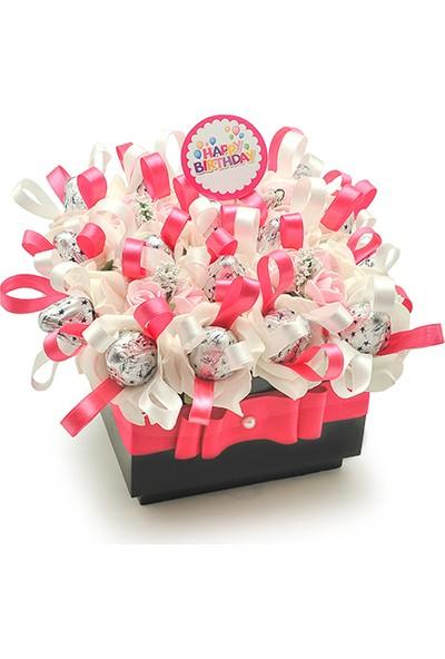Çiçek mi Lazım İyiki Doğdun Çikolata Kutusu