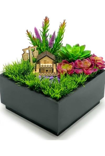 Çiçek mi Lazım Yapay Pembe Bahçe