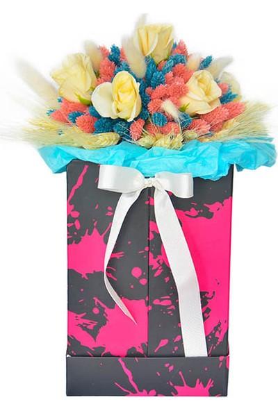 Çiçek mi Lazım Kuru Çiçek Tasarımı Pastel