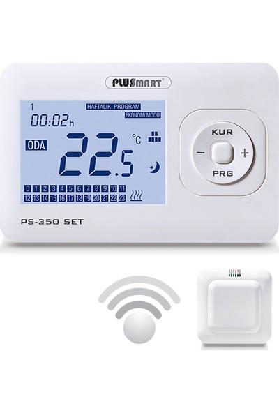 Plussmart PS 350 SET Kablosuz Dijital Oda Termostatı