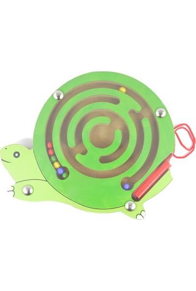 Piramigo Ahşap Labirent Maze Game Kaplumbağa