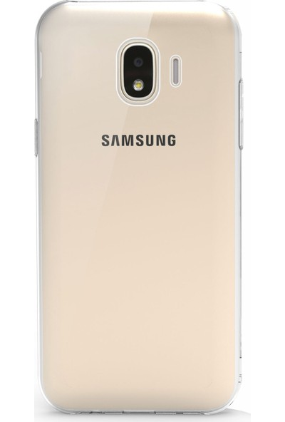 Microsonic Samsung Galaxy J2 Core Kılıf Transparent Soft Beyaz
