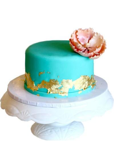 Pasta Cumhuriyeti Jelatinsiz Turkuaz Şeker Hamuru - 5 kg