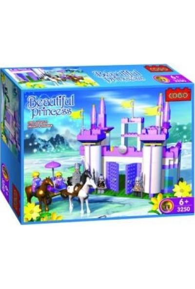 Cogo Prenses Seti Prensesin Kalesi 500 Parça Yapı Oyuncağı - 3250