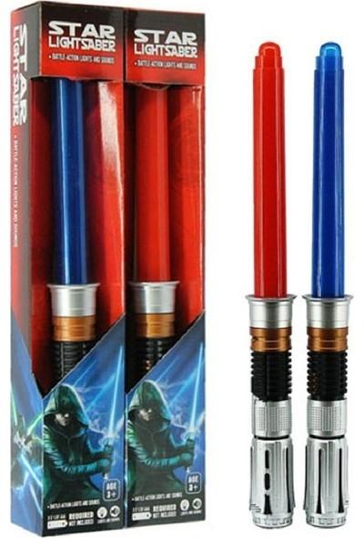 Star Lightsaber Star Wars Elektronik Işın Kılıcı 2 Kılıç Birlikte