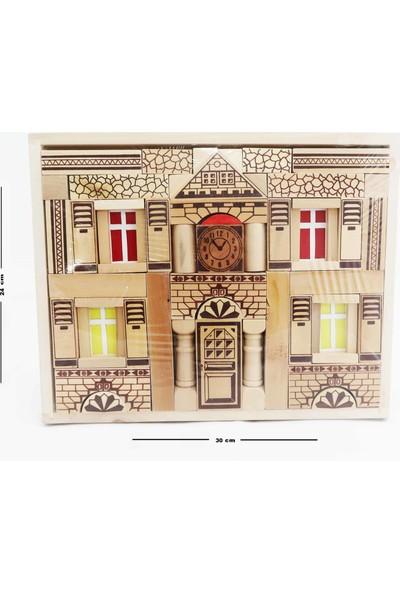 Ekincioğlu Ahşap Bloklar İki Katlı Ev