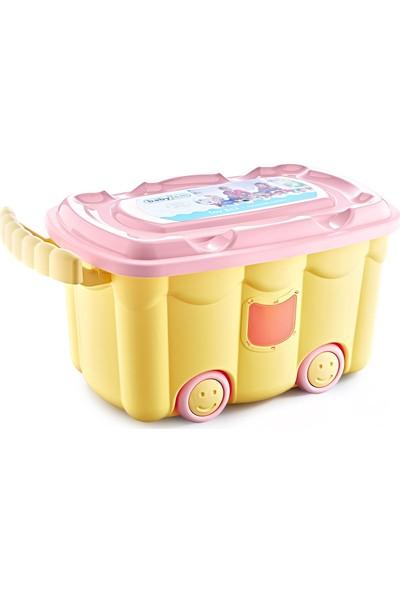Babyjem Lüx Oyuncak Saklama Kutusu Sarı