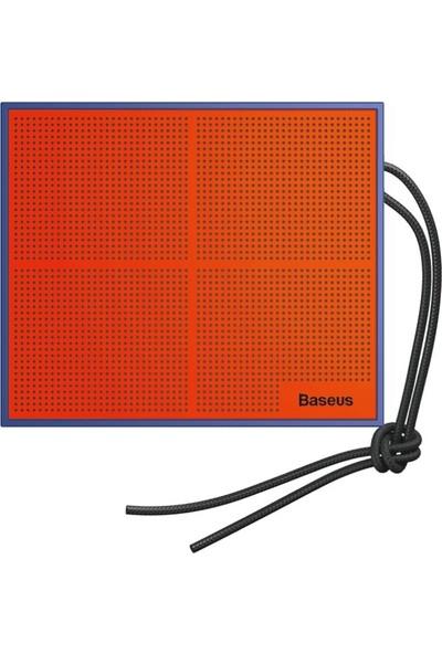 Baseus Encok E05 Stereo Bluetooth Hoparlör Speaker-Turuncu