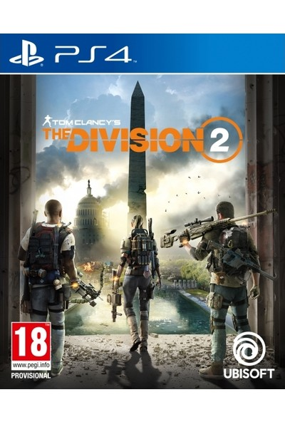 Tom Clancy's The Division 2 PS4 Oyunu