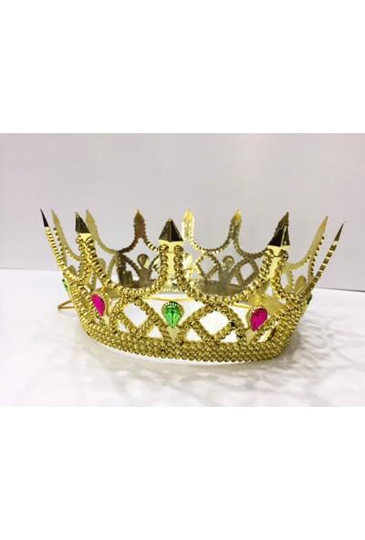 Samur Kraliçe Tacı Altın Renk