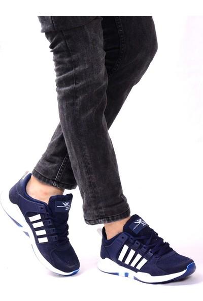 Solymar Lacivert Erkek Spor Ayakkabı