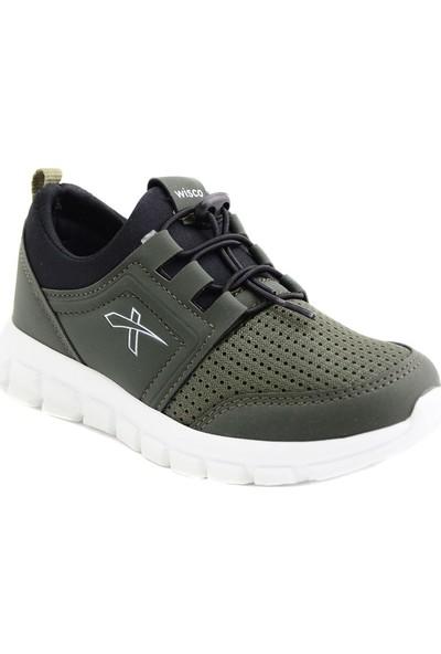 Wisco Hakı Siyah Çocuk Spor Ayakkabısı