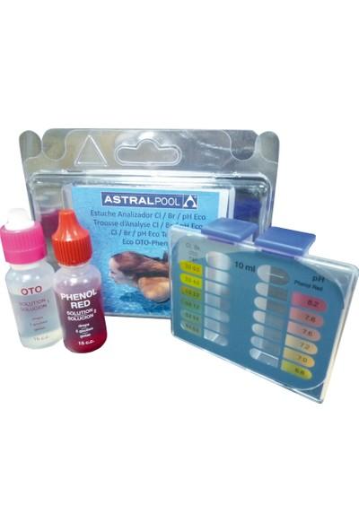 Astral Pool Ph Ve Toplam Klor Test Kiti