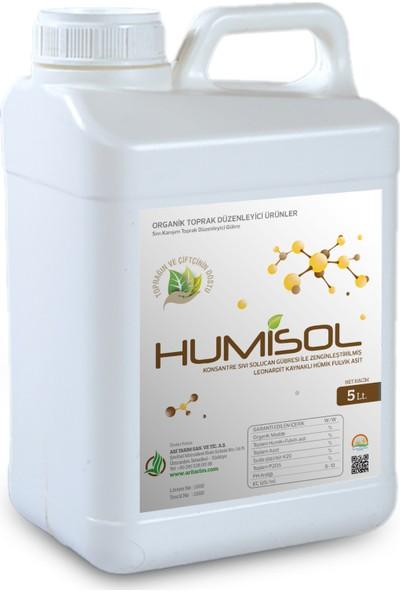 Humisol - Sıvı Karışım Toprak Düzenleyici Gübre - 5 Lt.