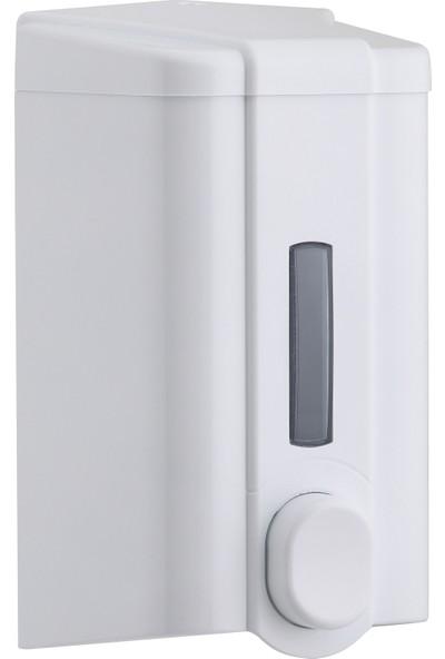 Vialli Sıvı Sabun Dispenseri Aparatı Beyaz 1000 Ml Vialli S4