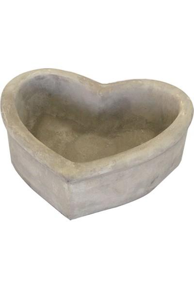Greenmall Kalpli Beton Saksı - 18 cm