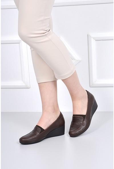 Gön Deri Kadın Ayakkabı 46352